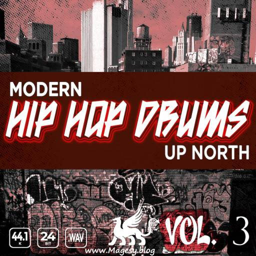 Modern Hip Hop Drums Up North Vol.3