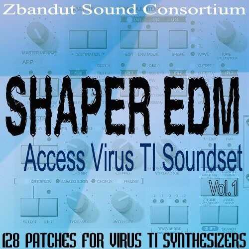 Shaper EDM Vol.1 For ACCESS ViRUS Ti DiSCOVER | Images From Magesy® R Evolution™